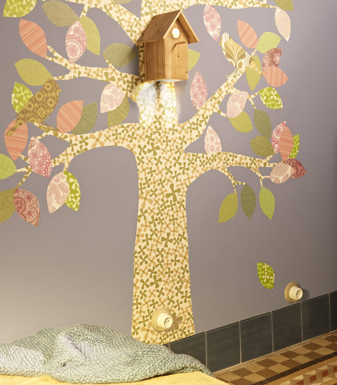 arbre, enchufe marco decapeé dorado ESCURSAT 6666(3)